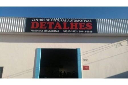 Centro de Pinturas Automotivas Detalhes