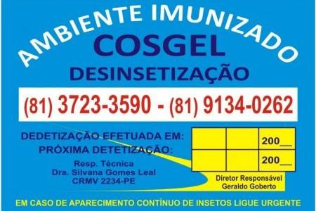 Cosgel Desinsetização